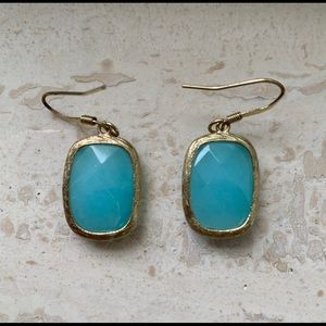 Jewelry - Chalcedony like stone earrings